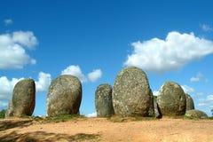 竖石纪念碑 库存图片