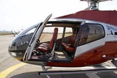 站点作为的直升机 免版税库存照片
