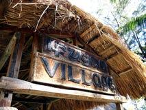 站点和吸引力在纳雍Pilipino里面克拉克的在Mabalacat,邦板牙省调遣 免版税图库摄影
