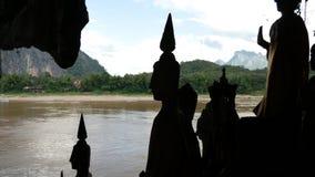 站立的Buddhas 图库摄影