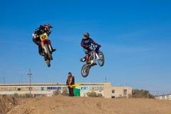 竞争摩托车体育运动 库存照片