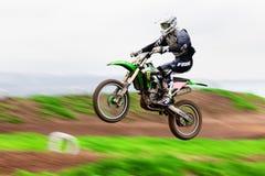 竞争摩托车越野赛 免版税库存图片