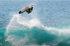 竞争海浪 免版税图库摄影