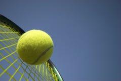 竞争网球 库存照片