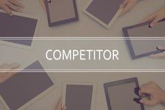 竞争者概念企业概念 免版税库存照片