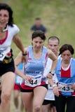 竞争赛跑者 免版税库存图片