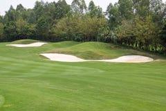 竞争高尔夫球 库存照片