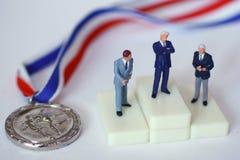 竞争 免版税图库摄影