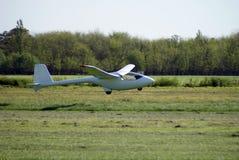 竞争sailplane 免版税库存照片