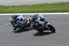 竞争superbike 库存照片