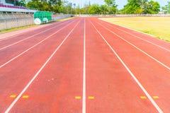 竞技体育场连续轨道 库存照片