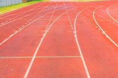 竞技体育场连续轨道 免版税库存照片