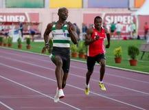 竞技冠军弗朗西斯obikwelu 库存照片