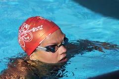 竞技场国际会议游泳xxiie 免版税库存照片