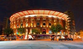 竞技场de巴塞罗那西班牙 免版税库存图片