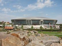 竞技场donbass顿涅茨克体育场 库存照片