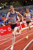 竞技-妇女1500m, TERZIC Amela 库存照片