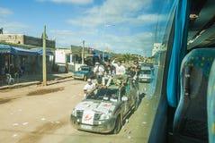 竞选活动在摩洛哥 免版税库存照片