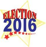 2016年竞选 免版税库存照片