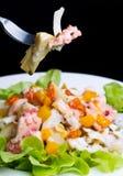 章鱼沙拉用朝鲜蓟 免版税库存照片