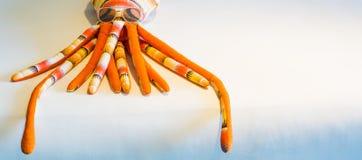 章鱼玩具 免版税库存照片
