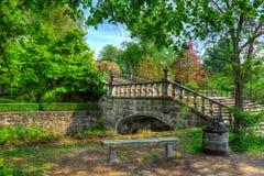 童话喜欢桥梁 库存图片