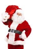 童话圣诞老人 库存照片