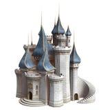 童话城堡 皇族释放例证