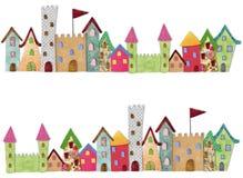 童话城市 免版税库存照片