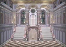 童话宫殿 库存图片