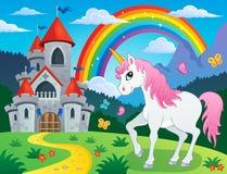 童话独角兽题材图象4 向量例证