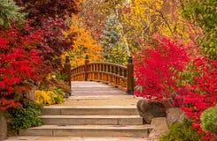 从童话的一座桥梁 免版税库存照片