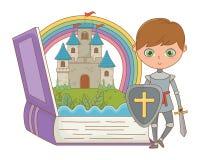 童话设计传染媒介例证书和字符  皇族释放例证
