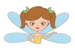 童话设计传染媒介例证神仙的动画片  库存例证