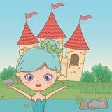 童话设计传染媒介例证神仙的动画片  向量例证
