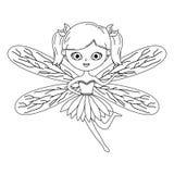 童话设计神仙的动画片  库存例证