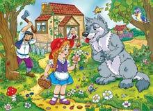 童话 向量例证