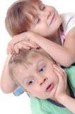 童年儿童朋友 免版税库存照片