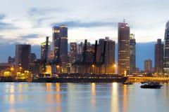 端口新加坡 免版税图库摄影