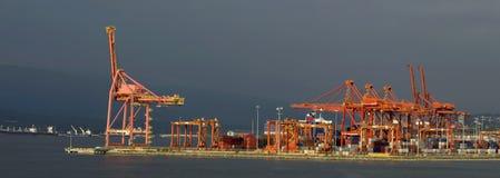 端口海运 库存照片