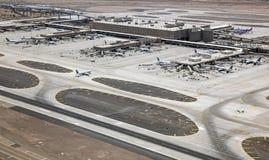 终端4,天空港口国际机场 免版税库存图片