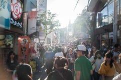 竹下街风景  免版税库存照片