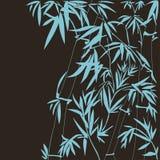 竹传染媒介例证 免版税库存图片