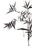 竹叶子 向量例证