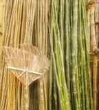 竹和竹产品 免版税库存照片