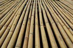 竹地板 库存照片