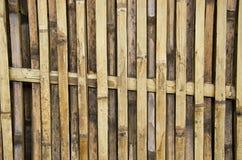 竹墙壁两 免版税图库摄影