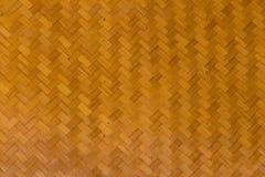 竹墙壁背景纹理 免版税库存照片