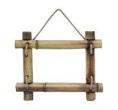 竹子框架照片  免版税库存照片