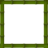 竹子框架 皇族释放例证